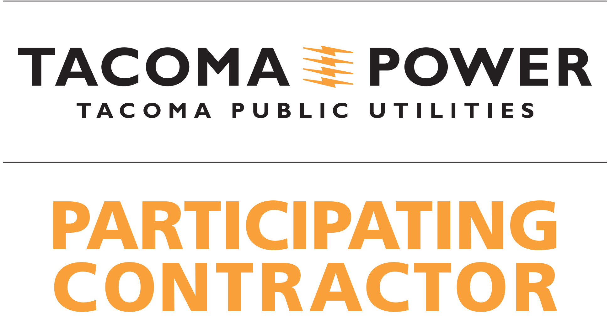 Tacoma Power Participating Contractor